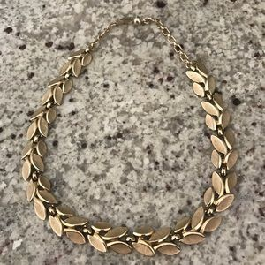 Trifari Vintage Gold Tone Link Necklace